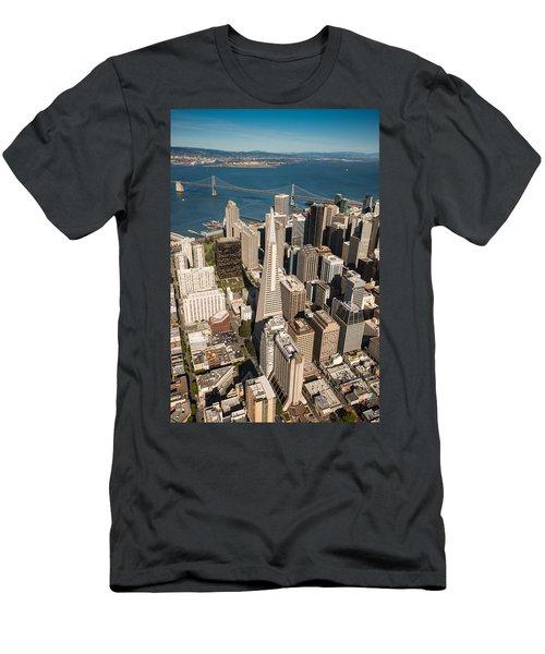 San Francisco Aloft Men's T-Shirt (Athletic Fit)