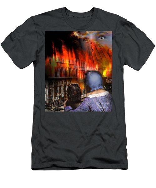 San Francisco Fire Men's T-Shirt (Athletic Fit)