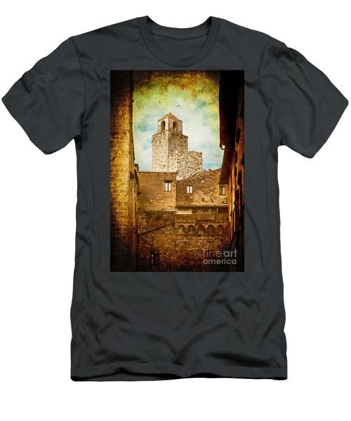 San Gimignano Italy Men's T-Shirt (Athletic Fit)