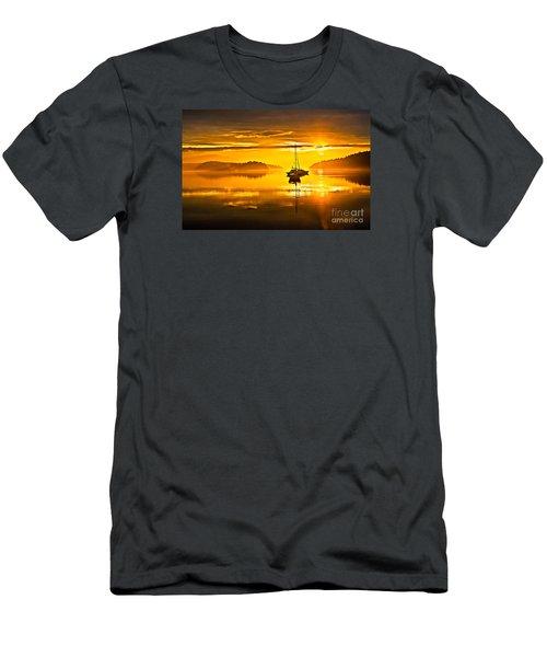 San Juan Sunrise Men's T-Shirt (Slim Fit) by Robert Bales