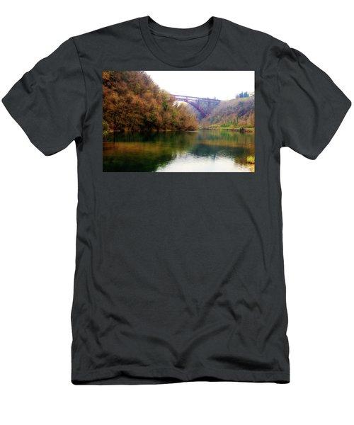 San Michele Bridge N.1 Men's T-Shirt (Athletic Fit)
