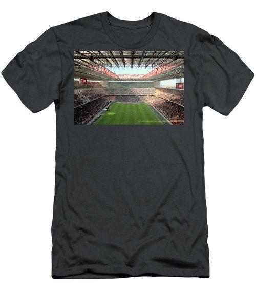 San Siro Stadium Men's T-Shirt (Athletic Fit)