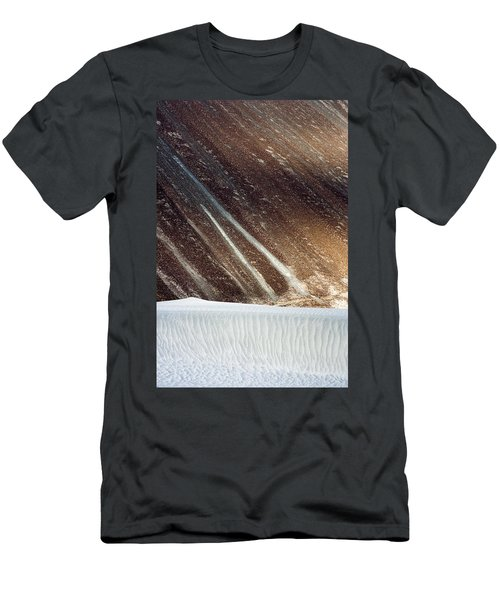 Sand Abstract, Hunder, 2006 Men's T-Shirt (Athletic Fit)