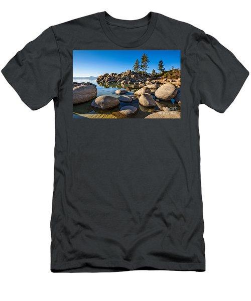 Sand Harbor Rock Garden Men's T-Shirt (Athletic Fit)