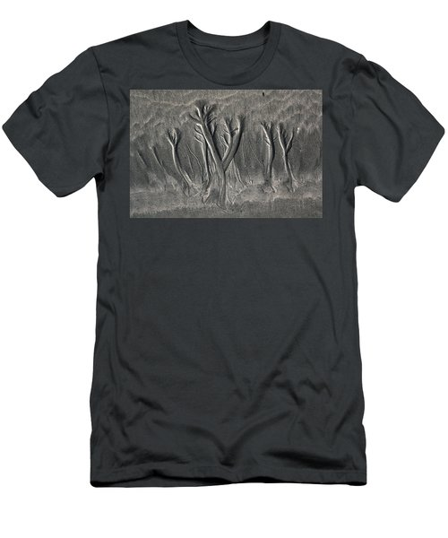 Sand Trees Men's T-Shirt (Athletic Fit)