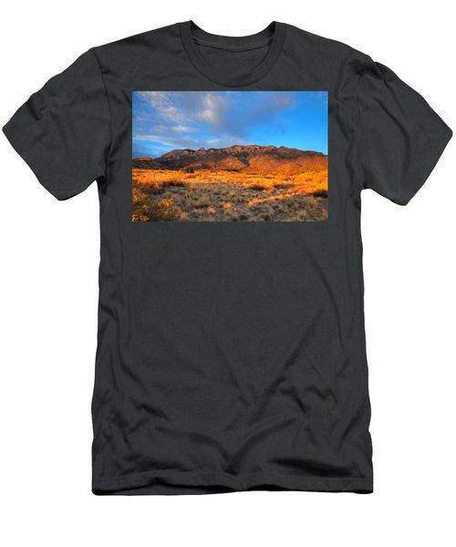 Sandia Crest Sunset Men's T-Shirt (Athletic Fit)