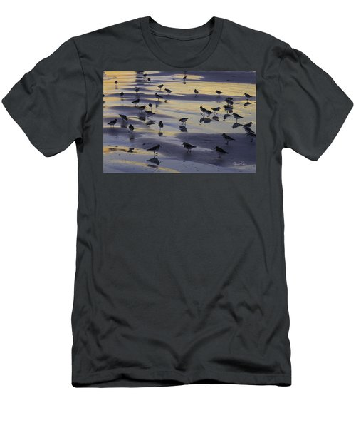 Sandpiper Sunset Convention Men's T-Shirt (Athletic Fit)