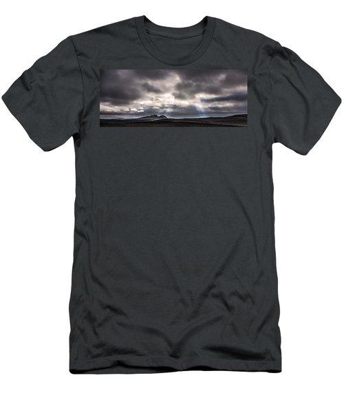 Sands Of Time Men's T-Shirt (Slim Fit) by Gunnar Orn Arnason