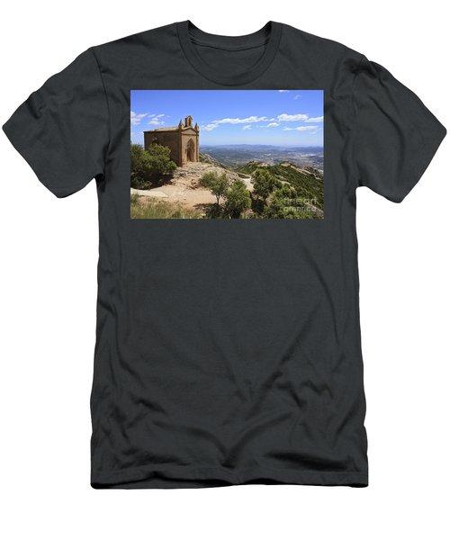 Sant Joan Chapel Spain Men's T-Shirt (Athletic Fit)