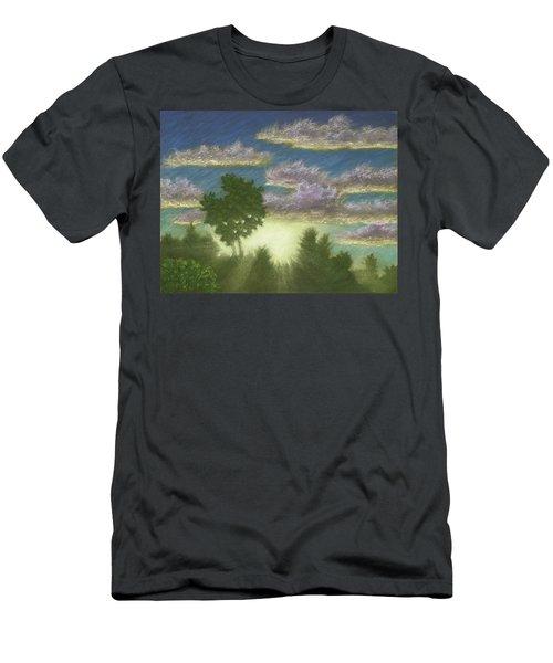 Santee Sunset 01 Men's T-Shirt (Athletic Fit)