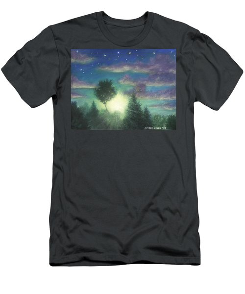 Santee Sunset 03 Men's T-Shirt (Athletic Fit)