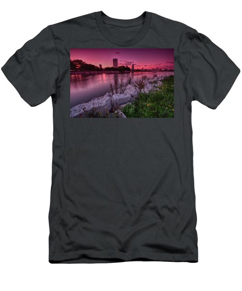 Scenic Sunset Men's T-Shirt (Athletic Fit)