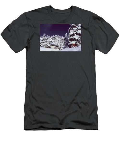 Schoolhouse Men's T-Shirt (Athletic Fit)
