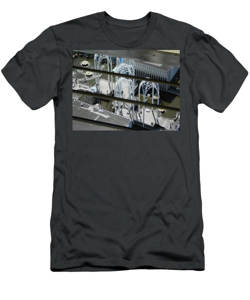 Science From The Top Men's T-Shirt (Slim Fit) by David Trotter