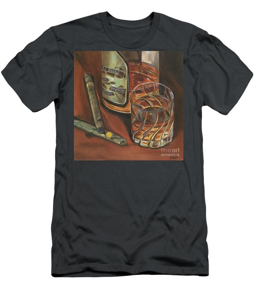 Scotch And Cigars 3 Men's T-Shirt (Athletic Fit)