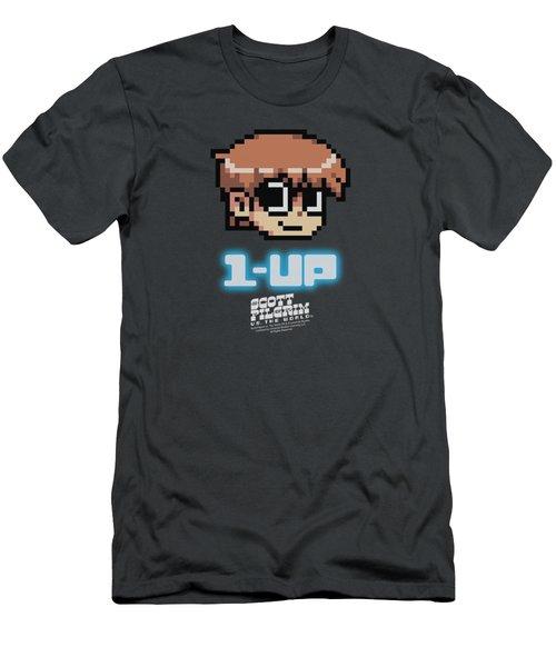 Scott Pilgrim - 1 Up Men's T-Shirt (Athletic Fit)