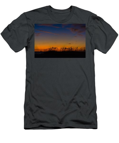 Sea Oats At Twilight Men's T-Shirt (Athletic Fit)