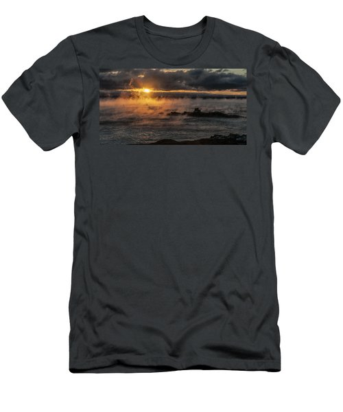 Sea Smoke Sunrise Men's T-Shirt (Athletic Fit)
