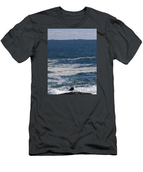 Seabreeze. Men's T-Shirt (Slim Fit) by Robert Nickologianis