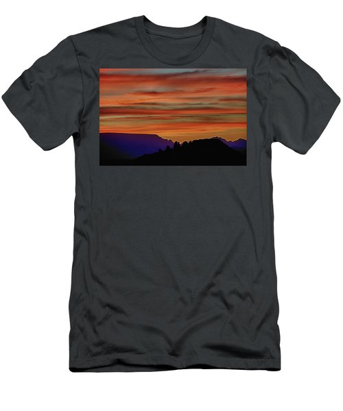 Sedona Az Sunset 2 Men's T-Shirt (Athletic Fit)