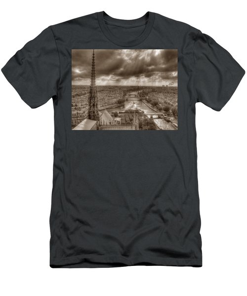 Seine From Notre Dame Men's T-Shirt (Athletic Fit)