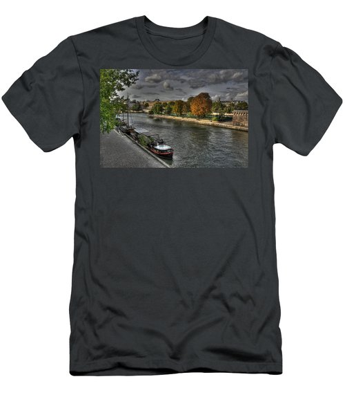 Seine Study Number One Men's T-Shirt (Athletic Fit)