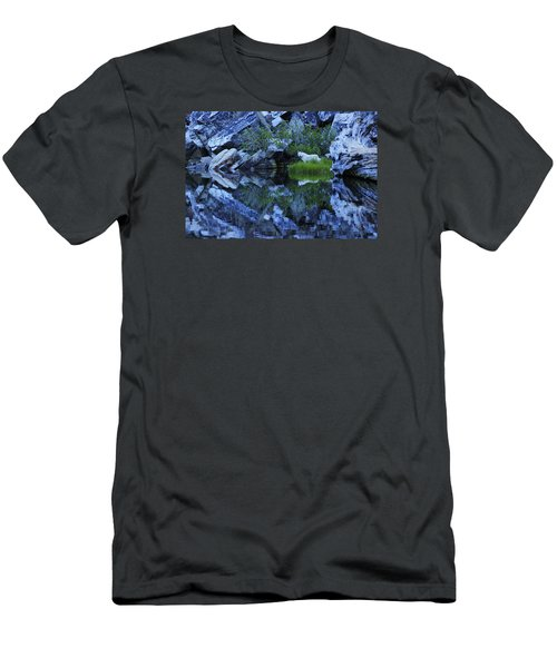 Men's T-Shirt (Slim Fit) featuring the photograph Sekani Wild by Sean Sarsfield