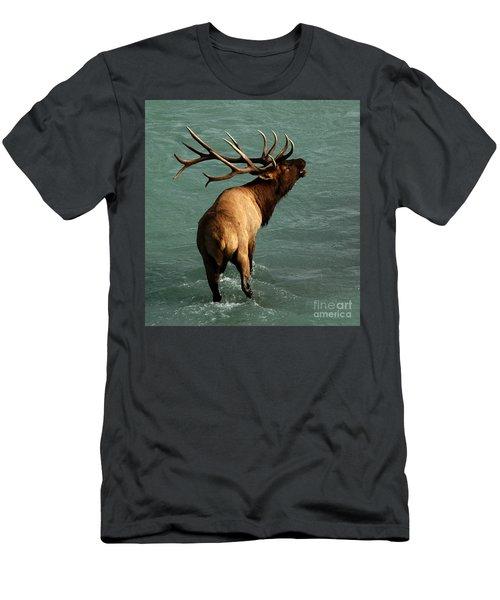 Sending A Challenge Men's T-Shirt (Athletic Fit)