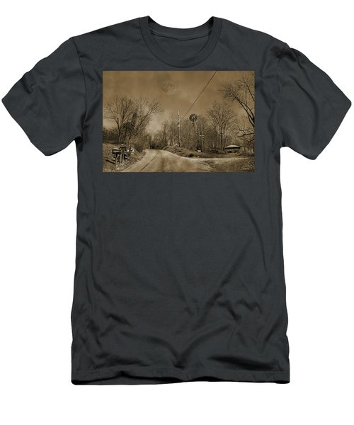Sepia Oz Men's T-Shirt (Athletic Fit)