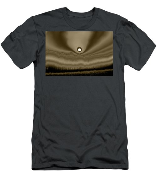 Sepia Sunrise Men's T-Shirt (Athletic Fit)