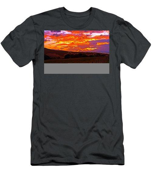 September Smokies Sunrise Men's T-Shirt (Athletic Fit)