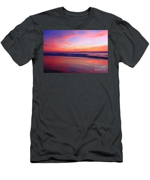 Serene Oceanside Glow Men's T-Shirt (Athletic Fit)