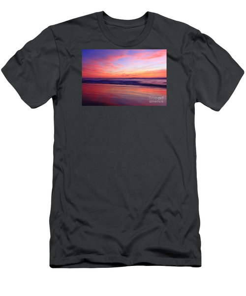 Serene Oceanside Glow Men's T-Shirt (Athletic Fit)