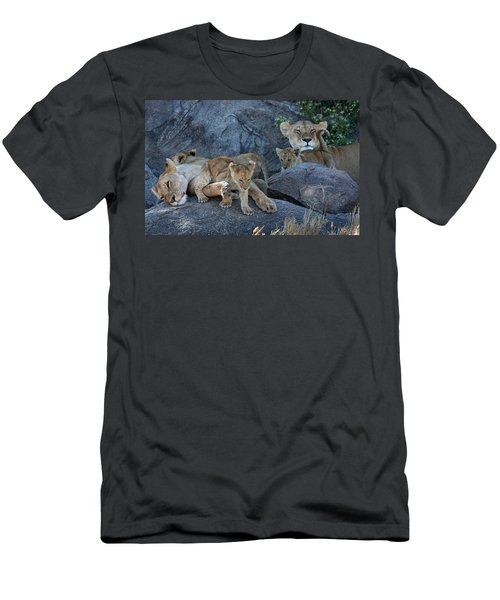 Serengeti Pride Men's T-Shirt (Athletic Fit)