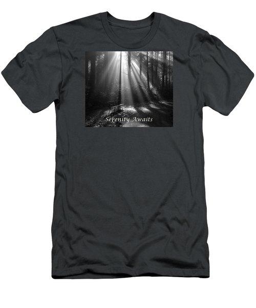 Serenity Awaits Men's T-Shirt (Slim Fit)