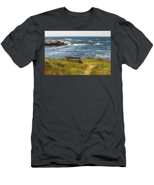 Serenity Bench Men's T-Shirt (Athletic Fit)