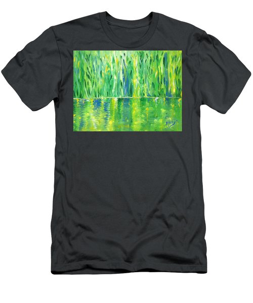 Serenity In Green Men's T-Shirt (Athletic Fit)