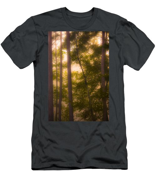 Serenity In The Forest Men's T-Shirt (Athletic Fit)