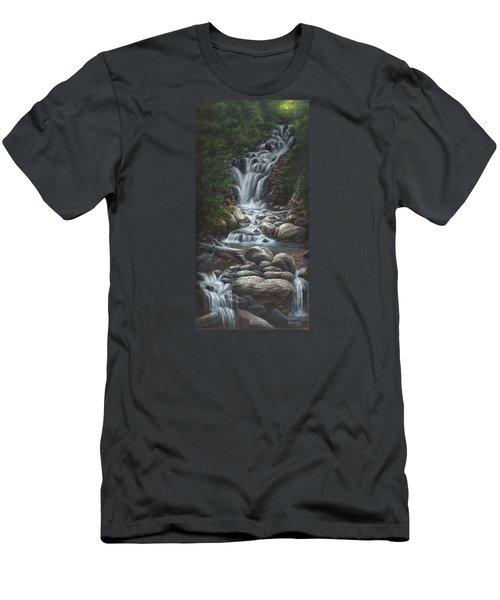 Serenity Men's T-Shirt (Slim Fit) by Kim Lockman