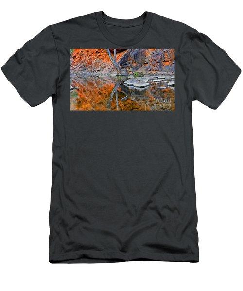 Serpentine Gorge Central Australia Men's T-Shirt (Athletic Fit)