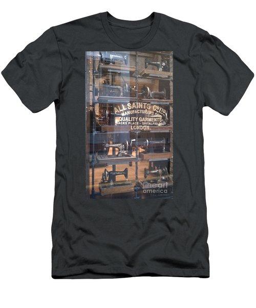Sew What Men's T-Shirt (Slim Fit) by Carol Lynn Coronios