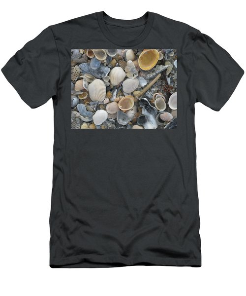 Shell Mosaic Men's T-Shirt (Athletic Fit)