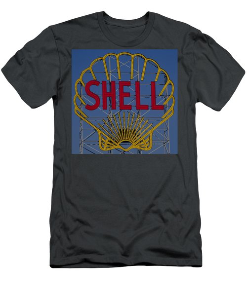 Shell Sign Cambridgeside Men's T-Shirt (Athletic Fit)