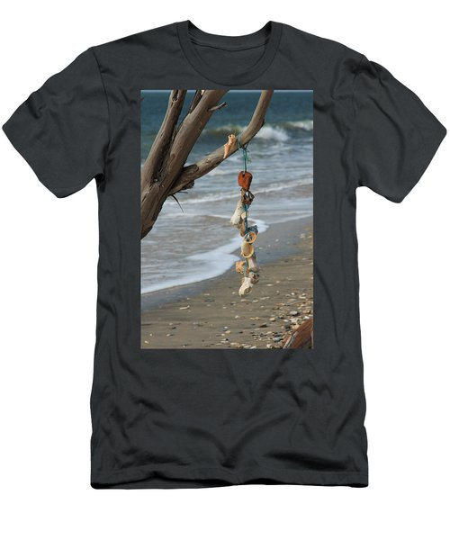 Shells On A String Men's T-Shirt (Athletic Fit)