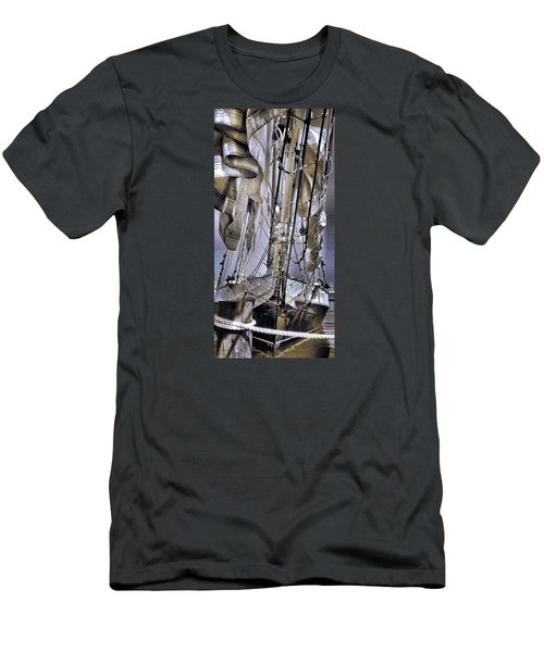 Men's T-Shirt (Slim Fit) featuring the photograph Shining Sea by Robert McCubbin