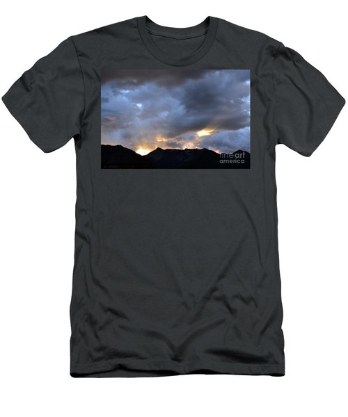 Men's T-Shirt (Athletic Fit) featuring the photograph Shining Through by Dorrene BrownButterfield