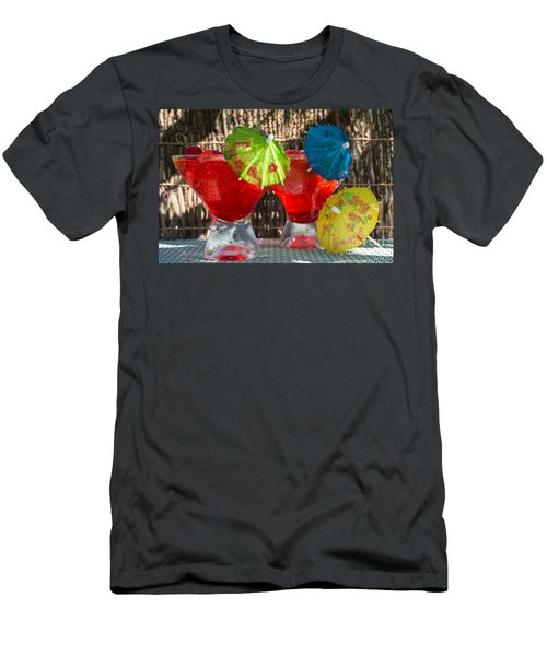 Shirley Temple Cocktail Men's T-Shirt (Slim Fit) by Iris Richardson