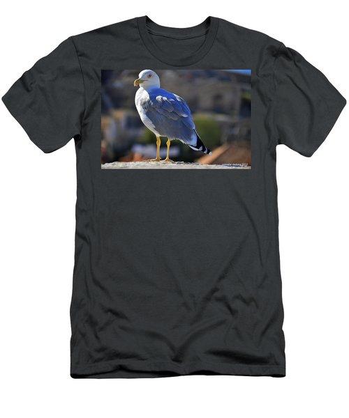 Shorebird Critic Men's T-Shirt (Athletic Fit)
