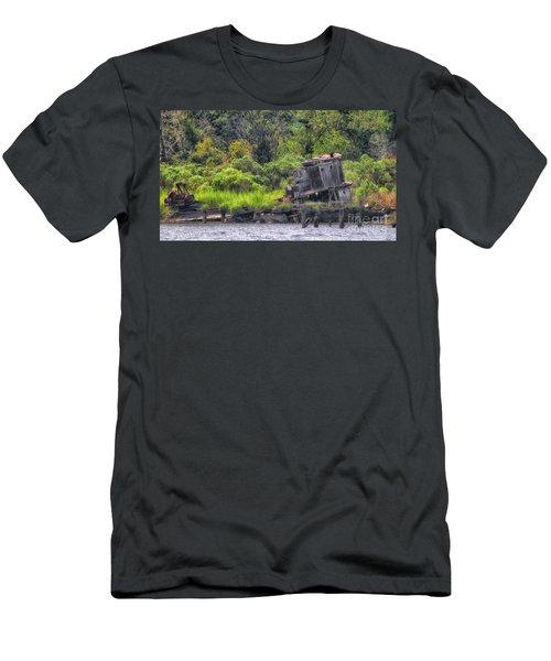 Shrimp No More Men's T-Shirt (Athletic Fit)