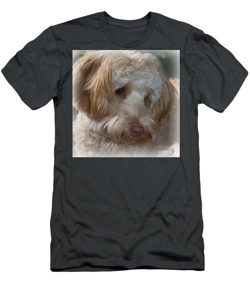 Shy Doodle Men's T-Shirt (Athletic Fit)